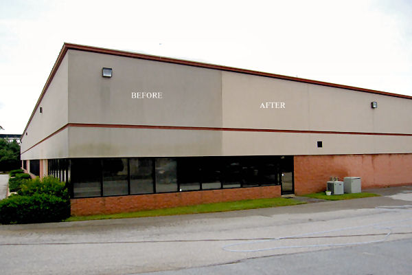 Commercial services simple solutions exterior cleaning llc for Commercial exterior cleaning services
